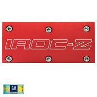 85-90 Camaro Iroc-z Tpi Red Billet Aluminum Throttle Body Plate Cover W/ Screws