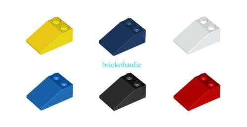 Lego Slope 33 3 x 2 Parts Pieces Lot Building Blocks ALL COLORS