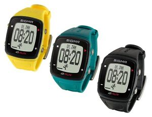 Laufuhr Sigma iD.Run Sportuhr Activity-Tracker Running..