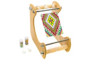 Ultimate Bead Loom kit set inc beads thread needles patterns kit