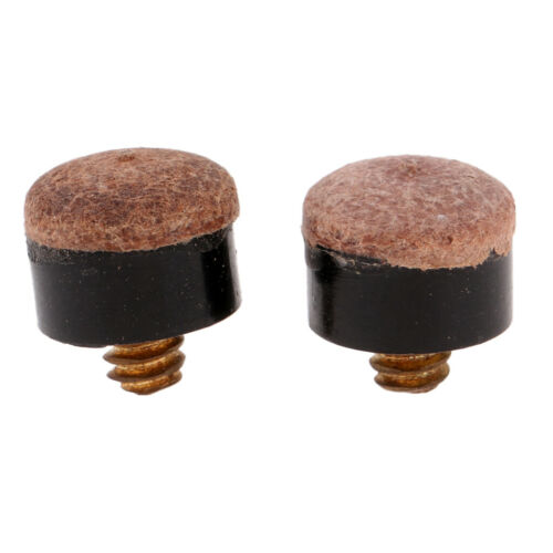 Soft Set of 20 Screw In Pool Cue Tips Type 13mm//11mm Screw On Cue Tips