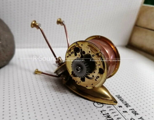 Steampunk diy mechanical insect mechanical snail all metal crafts handmade