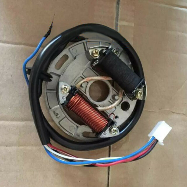 1x Motorcycles Parts 6v Magneto Engine Stator Coil Assembly Fit Suzuki Ax100 Pgs For Sale Online Ebay