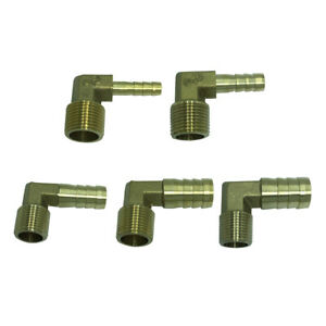Barb-Hose-Fitting-90-Degree-Hose-Barbed-Connector-Corrosion-Resistance