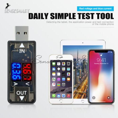 USB Digital LED Current Voltage Voltmeter Power Charger Detector Meter Tester