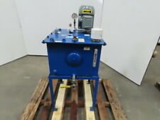 20 Gallon Oil Storage Transfer Tank Withmarzocchi Pump Weg 1hp 208 230460v 3ph