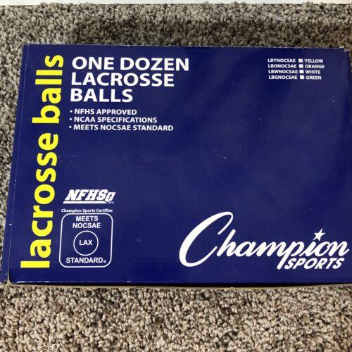 12 Pack Lacrosse balls Champion