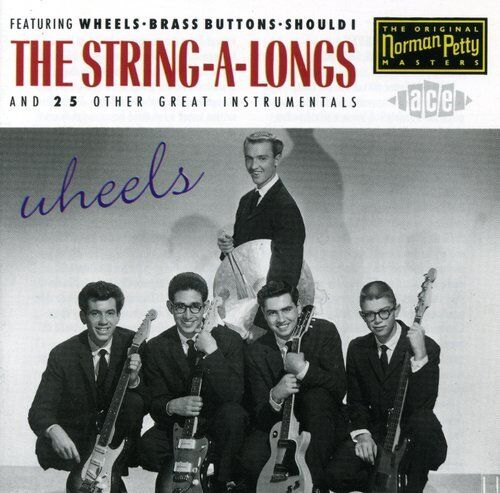 The String-A-Longs - Wheels [New CD] UK - Import