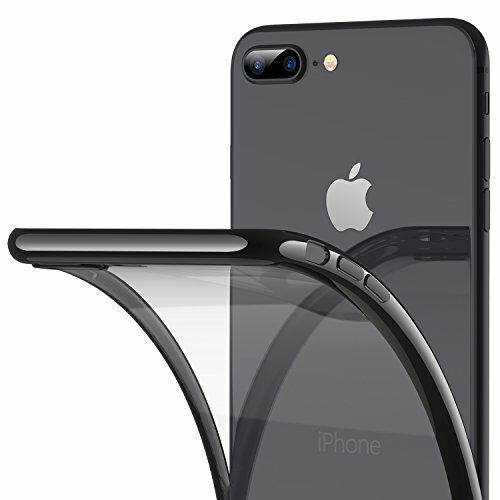 new product 80d41 519fd Cases iPhone 8 Plus Case 7 Ultra Slim Thin Clear With Premium Flexible  Bumper