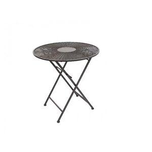 Beistelltisch Klapptisch Metall Tisch Couchtisch Bistrotisch