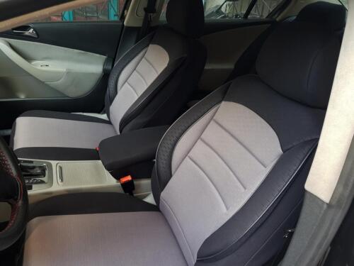 Sitzbezüge Housses de Protection pour Opel Adam noir-gris v759354 sièges avant
