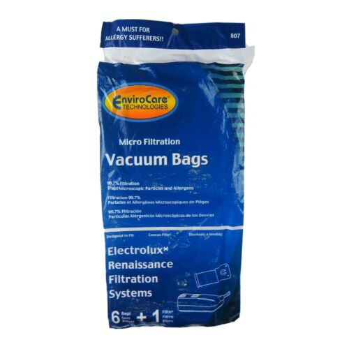 1 Filter 6 EnviroCare Technologies Micro Filtration Style R Vacuum Bags