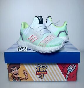 half off 76baf 2a7f6 Details about Adidas Ultraboost 19 x Toy Story 4 Buzz Lightyear Infant  Toddler Size White 2019