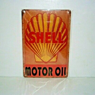 SMOMS1 Shell Motor Oil Metal Sign New 30 cm W X 20 cm H