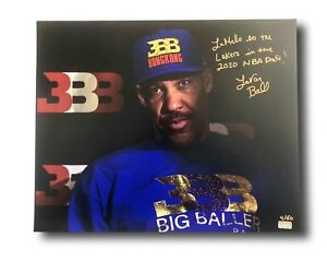 94be67919 LAVAR BALL SIGNED 16X20 PHOTO INSCRIBED