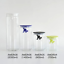 thumbnail 6 - A di Alessi Gianni Glass Jar, Blue Lid, 140 cl, AMDR06 AZ