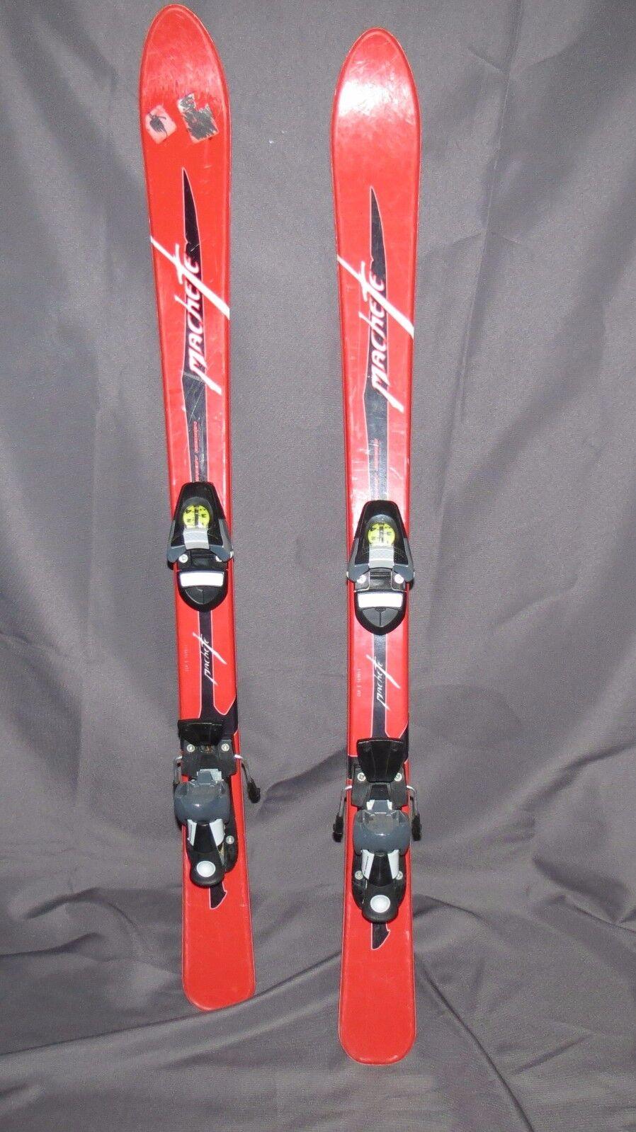 VOLANT Machete 110cm Kids Skis youth w  Salomon 305 Bindings THINK SNOW ✼