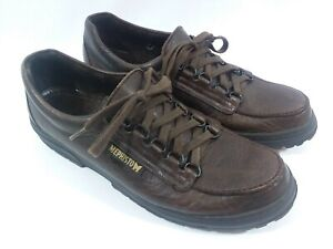 Mephisto-Trampolin-Womens-9-Brown-Leather-Walking-Hiking-Shoes