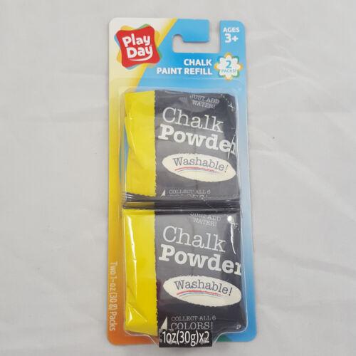 Sidewalk Chalk Paint Sprayer Refill Pack Play Day Blue Red Yellow Purple Orange
