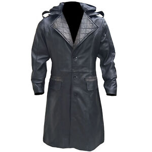 Assassins-Creed-Syndicate-Jacob-Frye-Michael-Distressed-Black-leather-Long-Coat
