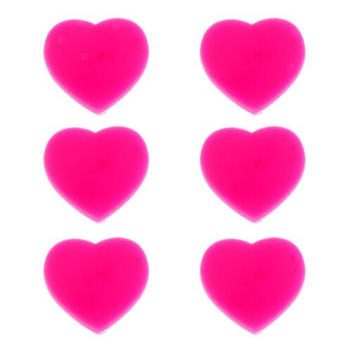 Set Herz Form Tennis Dämpfer Vibrationsdämpfer Stoßdämpfer für Schläger 6pcs