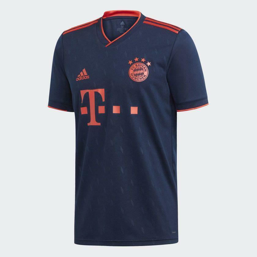 DW7411 adidas 2019-20 FC Bayern Munchen mannen's Third Jersey