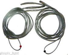 Red 8ft Ultralight Whoopie Slings Hammock Suspension Amsteel USA