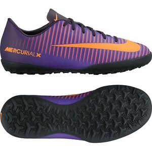 fe1c2367d Nike Mercurial X Vapor XI TF Turf Soccer SHOES 2016 Purple - Orange ...