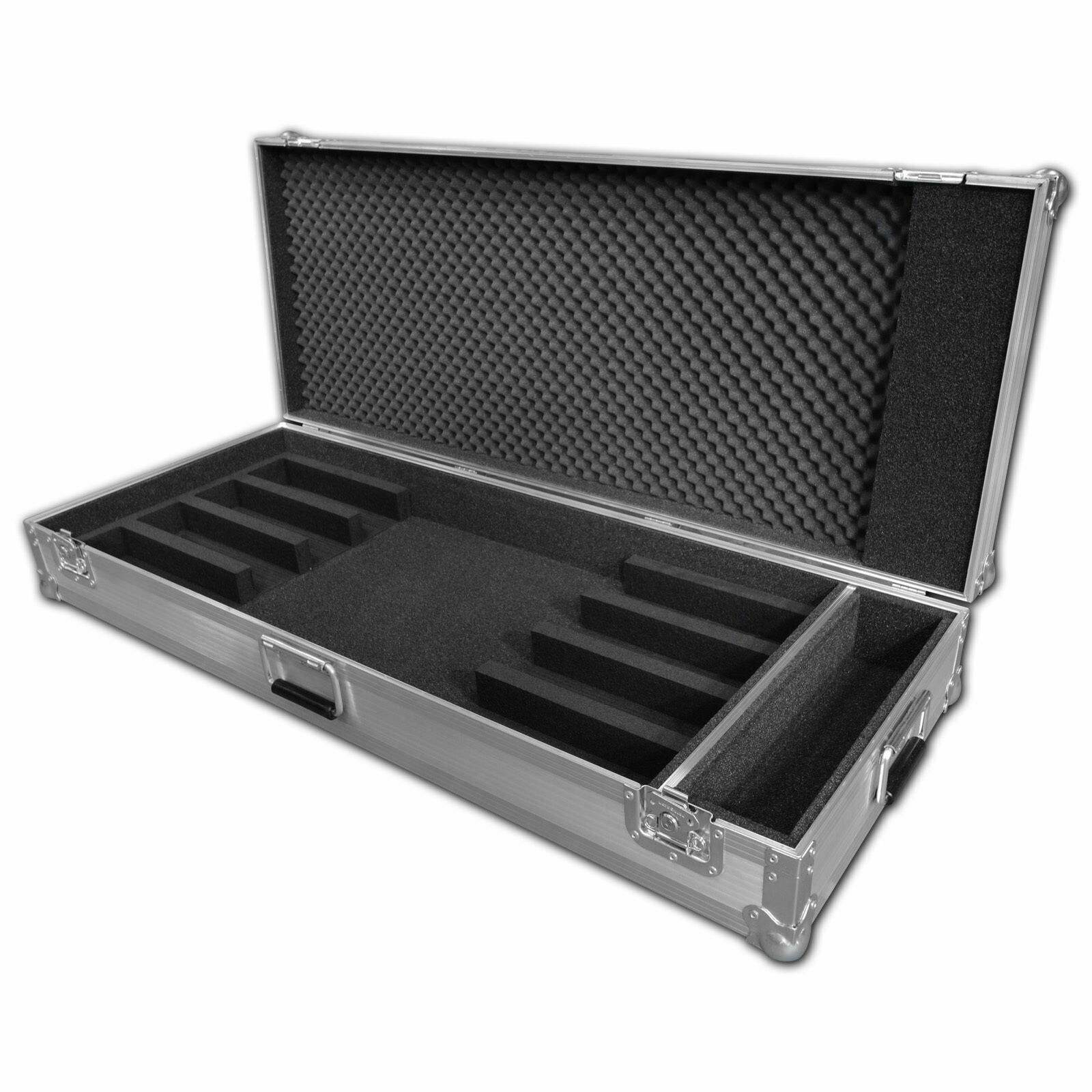 LED Batten Flight Case To fit 4 Battens for Showtec RGB Bar