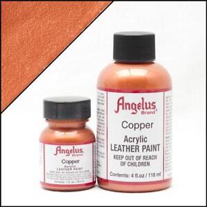 Angelus Kupfer (141) Acryl Lederfarbe 29,5ml (20,17€/100ml) Leder Schuhfarbe