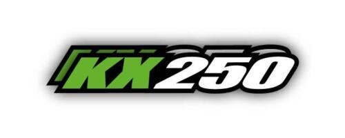 KAWASAKI KX250 SWINGARM STICKERS GRAPHIC KIT PART kx 250 dirtbike Decals FIT