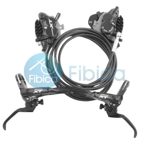 New 2018 Shimano Deore XT M8020 4Piston Hydraulic IceTech Disc Brake set rossoor
