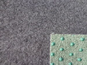 Kunstrasen-Rasenteppich-3-50-m-Teppich-133-cm-grau-Fertigrasen-Noppen
