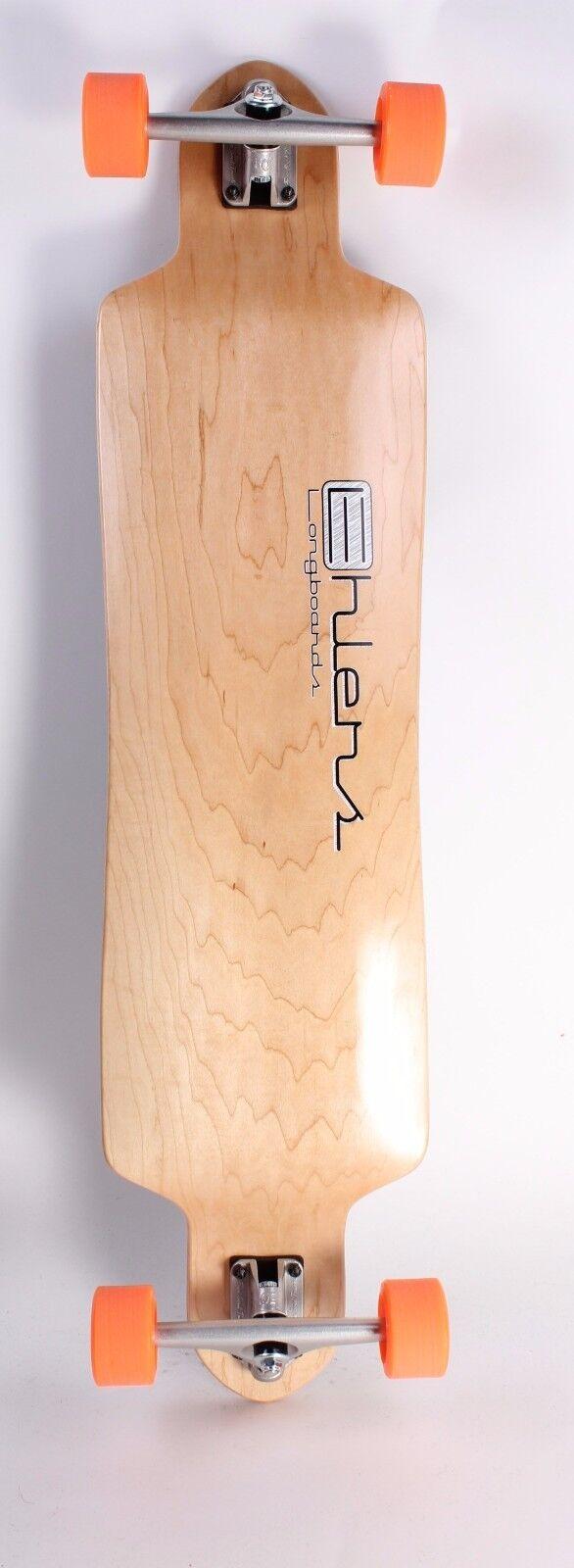 40  x 9.5  Drop Through Drop Down Canadian maple longboard