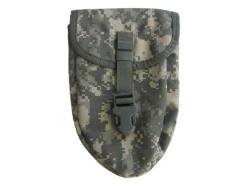 Utilisé Military Surplus US GI Pelle//Enraciner outil couverture ARMY COMBAT Uniforme authentique question