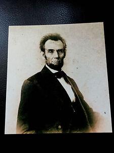Large Quarter Plate Abraham Lincoln Civil War President tintype C548RP