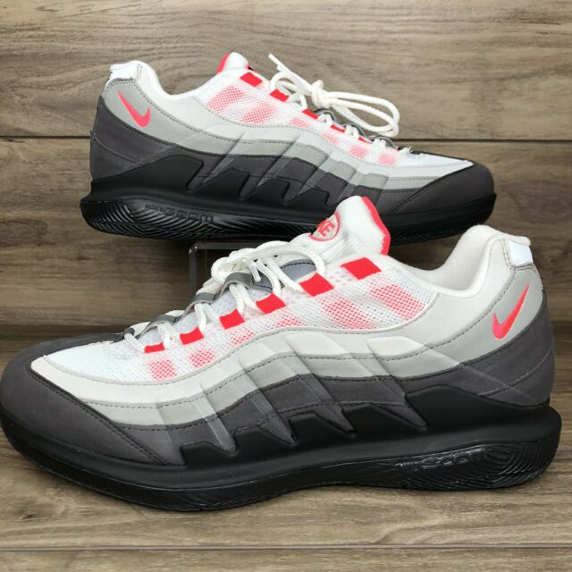 Size 10 - Nike Court Zoom Vapor X Air Max 95 Solar Red 2020 for ...