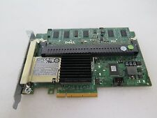 J155F - Dell PERC 6/E Dual SAS PCI-Ex8 SP Raid Ctrlr w/ KR174 Batt & 512MB Cache