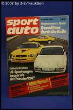 Sport Auto 1/79 Porsche 924 Mustang Camaro + Poster