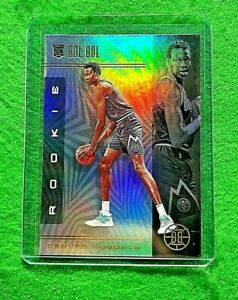 BOL-BOL-PRIZM-ROOKIE-CARD-JERSEY-10-DENVER-NUGGETS-2019-20-PANINI-ILLUSIONS-RC
