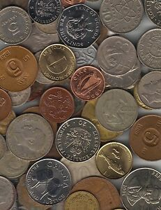 1-2-POUND-LOT-ALL-DIFFERENT-FOREIGN-WORLD-COINS