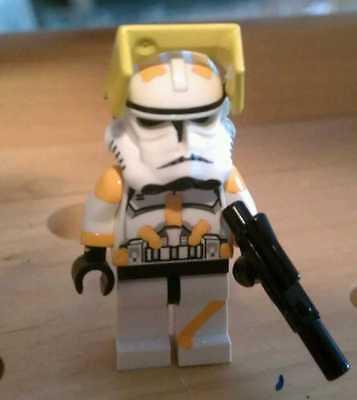 Lego Star Wars Custom Commander Bly Phase 2 Armor Clone Wars Trooper