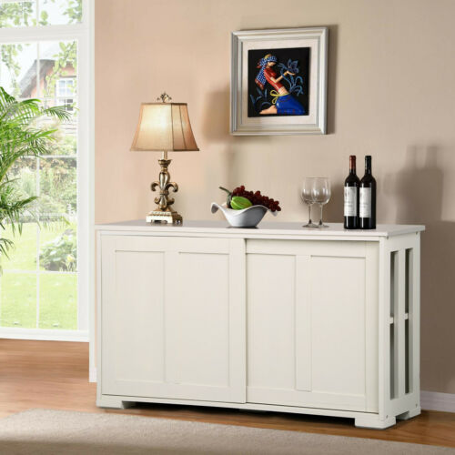 Kitchen Storage Buffet Cabinet Sideboard Cupboard Pantry Console Table Display
