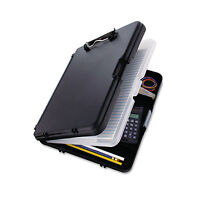 Saunders Workmate Ii Storage Clipboard 1/2 Capacity Holds 8-1/2w X 12h Black on sale