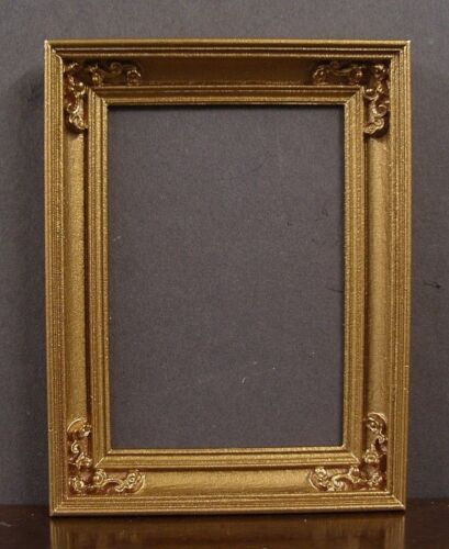 EMPTY  PICTURE  FRAME ~ HANDCRAFTED ~ Jim Coates ~ Dollhouse Mini ~ 1:12 scale