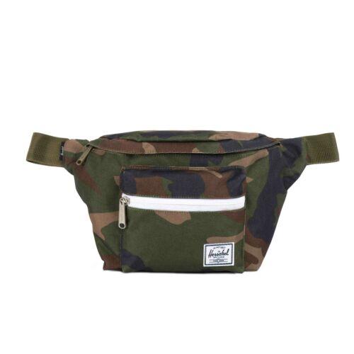 Herschel Seventeen 3.5 L Hip Pack Bum Bag Woodland Camo multi zip
