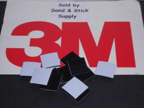 "3M SJ3540 RECLOSABLE FASTENER  BLACK  DUAL LOCK TYPE 250 1/"" X 1/"" SQUARES 12PCS"