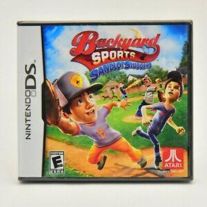 Backyard Sports Sandlot Sluggers (Nintendo DS) NEW | eBay
