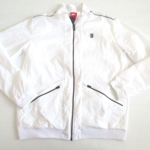 3682423332e6 Nike Court Men s Varsity Jacket White XL 830919-101 for sale online ...
