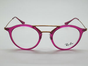 40f75ef247 NEW Authentic Ray Ban RB 7097 5631 Fuchsia Copper 47mm RX ...